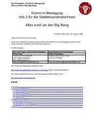 Bericht Bundesrundbrief - Stiftung Pfadfinden