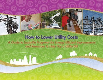 How to Lower Utility Costs How to Lower Utility Costs - Metropolitan ...
