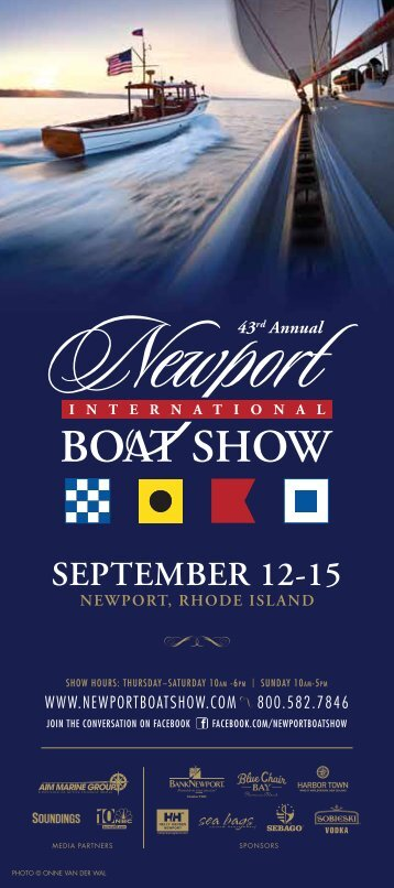 Two-page PDF version (1 MB) - Newport International Boat Show
