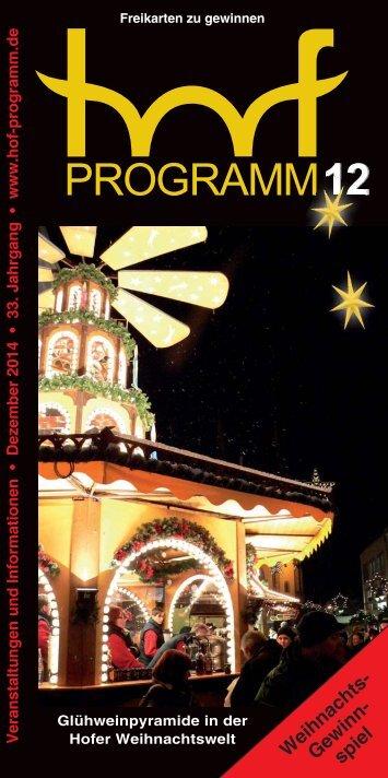 hof-programm - Dezember 2014