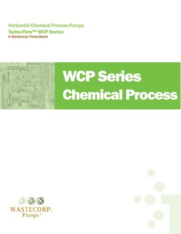 Brochure (PDF) - Wastecorp Pumps