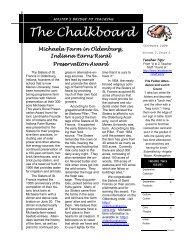 73rd Edition - September 2009 - Marian University