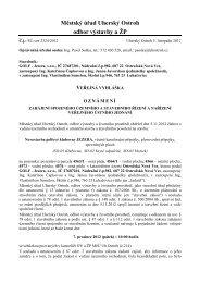 SUSR - Jezera.pdf - Obec Ostrožská Nová Ves