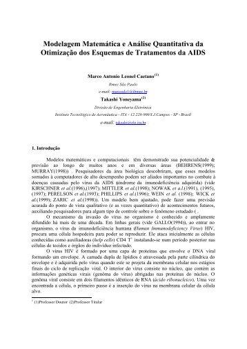 Modelagem Matemática e Análise Quantitativa da Otimização dos ...