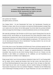 Rede im Hessischen Landtag zum Thema Einführung des ...