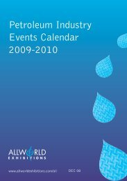 J90745. OES Oil calendar UK - Allworld Exhibitions