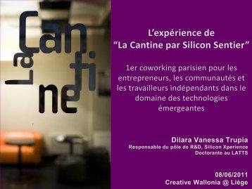 """Présentation de """"la Cantine"""" (coworking 08/06/2011) (.PDF ... - Awt"""