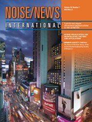Volume 20, Number 1, March, 2012 - Noise News International