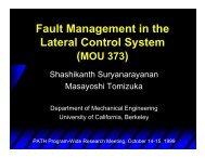 PDF file 576 k - PATH - University of California, Berkeley