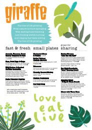 small plates fast & fresh - Manchester Airport