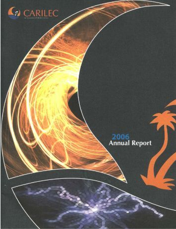 Annual Report 2006 - Carilec