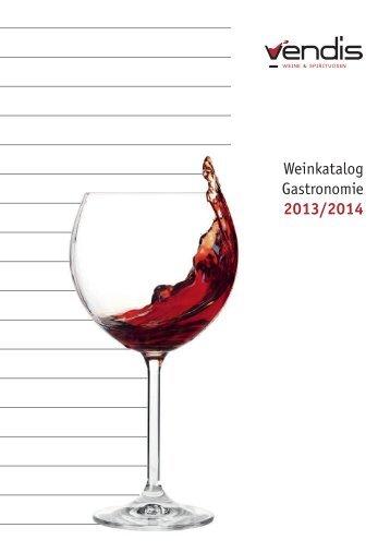 Weinkatalog (Gastronomie) (ca. 8 MB) - bei Vendis Gastro GmbH ...