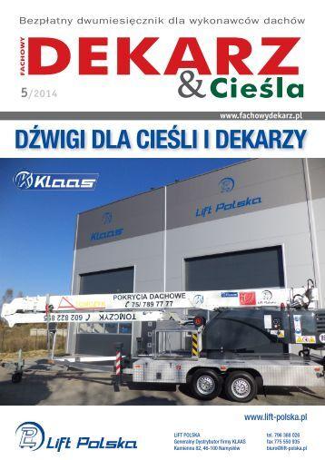 Fachowy Dekarz & Cieśla 5/2014