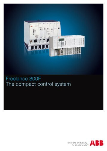 Freelance 800F The compact control system