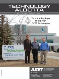 Technical Employer of the Year: C-FER Technologies - ASET