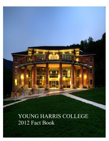 2012 YHC Fact Book - Young Harris College