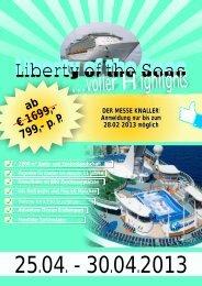 Liberty of the Seas 25.04. - 30.04.2013 - Reisebüro Niedermayer ...