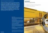 Autodesk® Vault-Produktfamilie Intelligentes Datenmanagement für ...