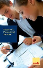 Valuation & Professional Services - Savills