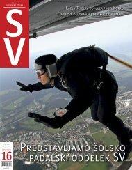 Predstavljamo Å¡olsko padalski oddelek SV - Ministrstvo za obrambo