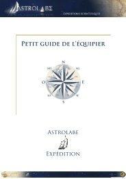 Guide-Equipier