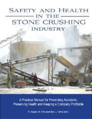 Safety & Health in the Stone Crushing Industry - Occupational ...