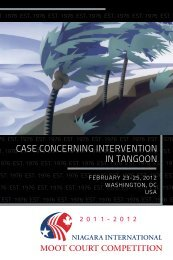 case concerning intervention in tangoon - The Canada-US Law ...