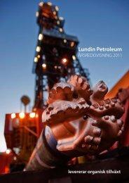 Årsredovisning 2011 - Lundin Petroleum