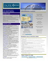 June 2013 e-Bulletin(.pdf) - Pacific Rim Advisory Council (PRAC)
