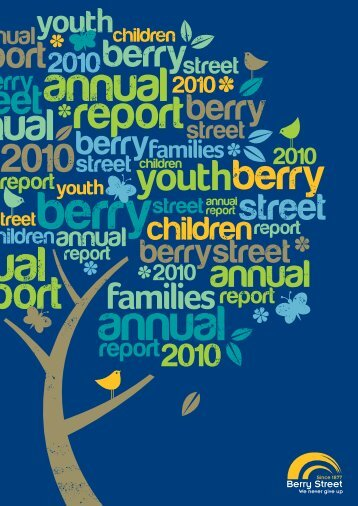 Annual Report 2010 - Berry Street