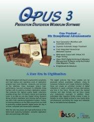 OPUS WorkFlow Brochure - Image Access Inc.