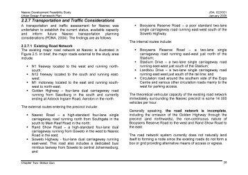 Chapter 2 part 3 - Johannesburg Development Agency
