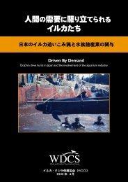 イルカたち - Whale and Dolphin Conservation Society