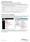Carte Adaptateur Série ExpressCard à RS232 ... - StarTech.com - Page 6