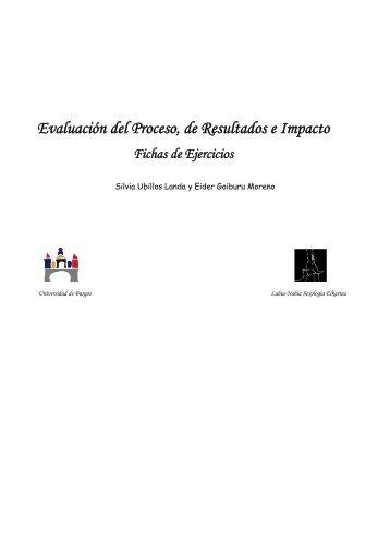 Evaluación del proceso, de resultados e impacto ... - Sida Studi