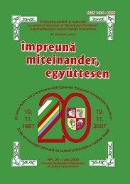 nr. 25 - iulie 2008.pmd - Demokratisches Forum der Banater ...