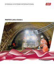 PANTEX Lattice Girders - dywidag uk