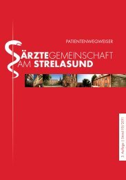 3 . A uflage | Stand 10 / 2 011 - Ärztegemeinschaft am Strelasund