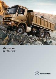 Actros 3344 K 6x4 - Mercedes Benz