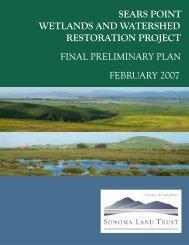 Final Preliminary Plan - Text (PDF - 970 KB) - Sonoma Land Trust