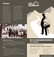 Flyer (PDF) - Museum Savognin