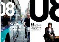 Journal de l'année - Keolis