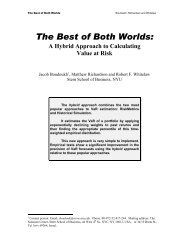 The Best of Both Worlds: A Hybrid Approach to Calculating Value at ...