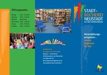 stadt - Willkomm Gemeinschaft eV Neustadt an der Weinstrasse