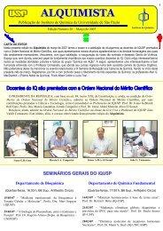 Alquimista nº 28 - Instituto de Química - USP