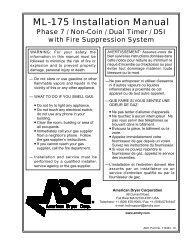 MDG-50 Installation Manual - Fowler Equipment