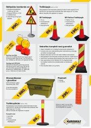 Trafikksylinder (skilt nr 942) Sebraflex komplett med ... - Euroskilt AS