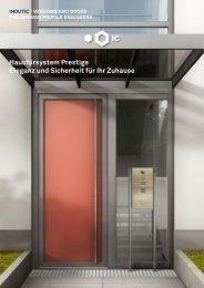 Haustürsystem Prestige Eleganz und Sicherheit für Ihr Zuhause
