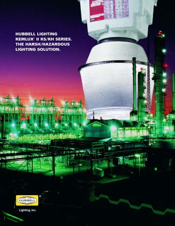 Kemlux II Brochure - Hubbell Industrial Lighting