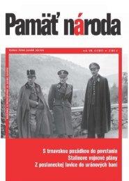 Pamäť národa 04/2011 - Ústav pamäti národa